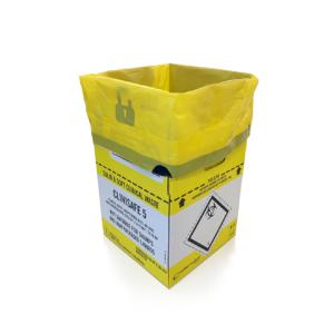 Clinisafe 5 Litre Cardboard Carton