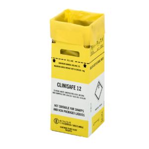 Clinisafe 12 Litre Cardboard Carton