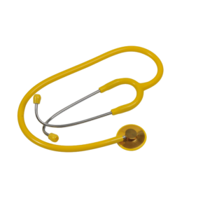 Ideal stethoscope Single Head, Yellow