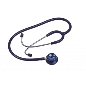 Ideal stethoscope, Adult, Blue, Double Head