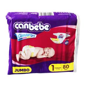 Canbebe Diaper – Jumbo Newborn