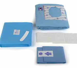 Disposable Sterile Lithotomy Gynaecology Pack
